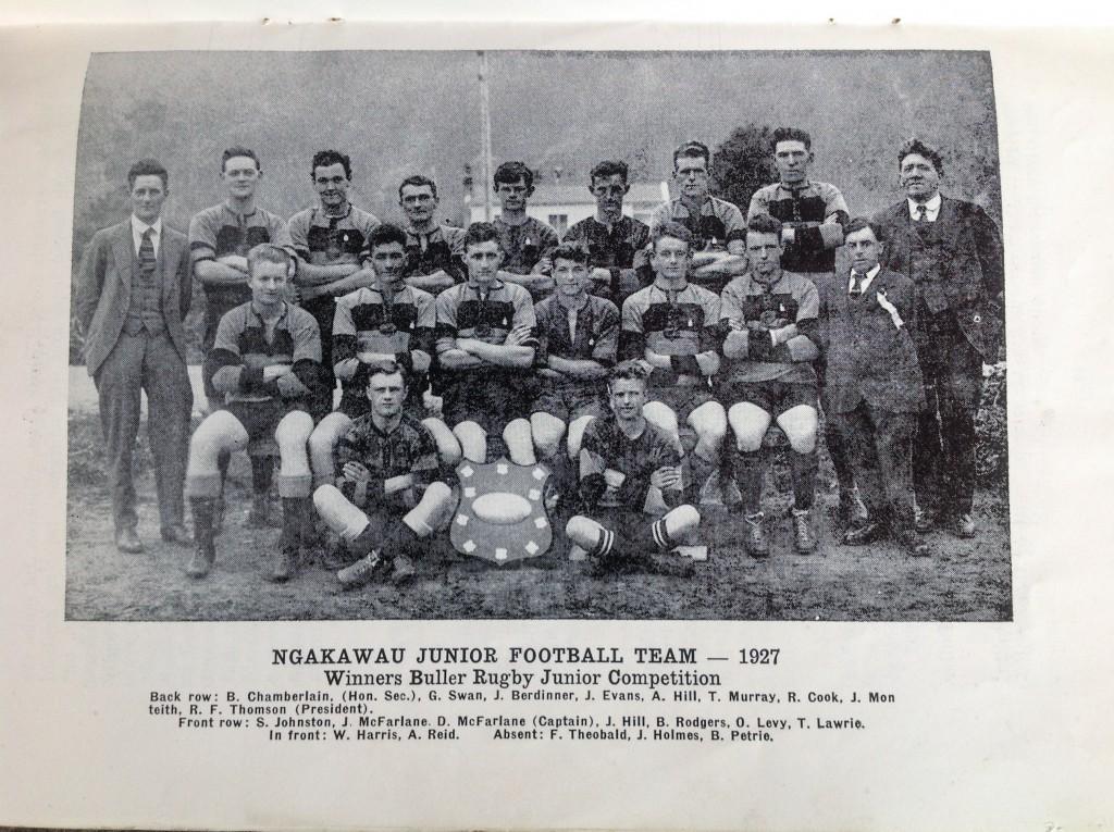 1927 Juniors